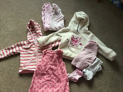 Baby Girl bundle 6-9months upto 12-18months