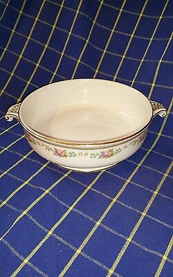 """BOOTHS SILICON CHINA VEGETABLE SERVING BOWL - 8"""" Diam Pattern No 9721~VGC"""