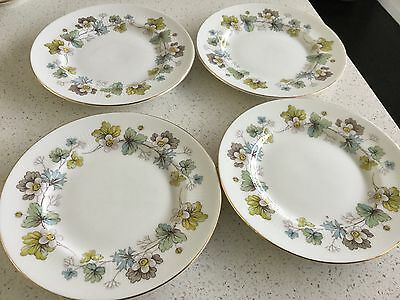 Royal Standard Bone China Side Plates  Set Of Four Made In England