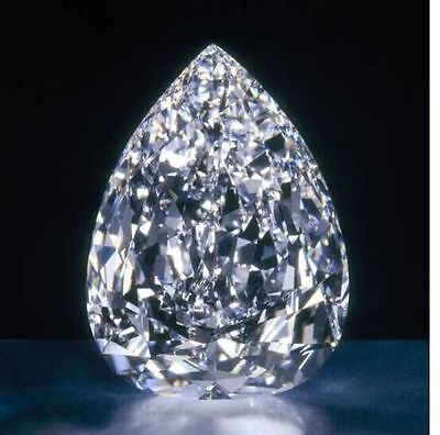 12.00 Ct Huge  Loose White  Pear sapphire 10x14 mm Beast Offer  Ebay
