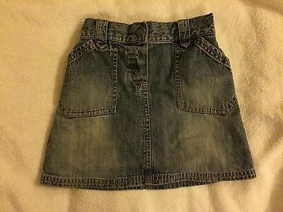 Next Girls Denim skirt age 2-3
