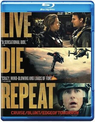 Edge of Tomorrow - Live Die Repeat: Edge of Tomorrow [New Blu-ray] Ac-3/Dolby Di