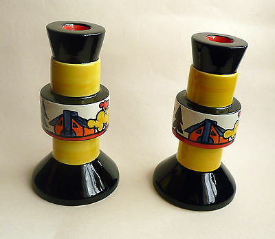 Lorna Bailey Dimsdale Hall Pair Of Candlesticks