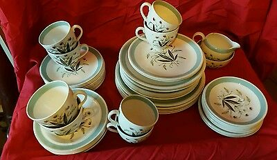 "Vintage ALFRED MEAKIN ""HEDGEROW"" Dinner Table Ware"