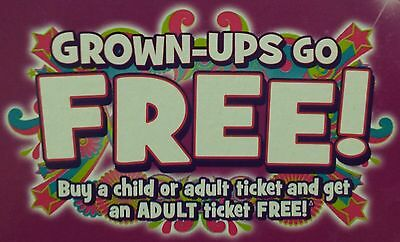 2 Free Adult Entry Codes to Merlin Attractions inc. Alton Towers, Chessington