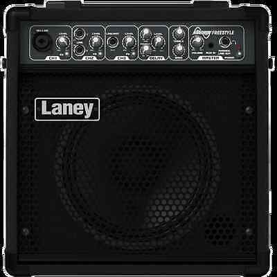 LANEY    AH-FREESTYLE Audiohub Instrument Amp Powered Speaker