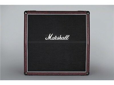 Marshall 1960A: 4 x 12 Guitar Amp Cab Special In Burgundy Snakeskin