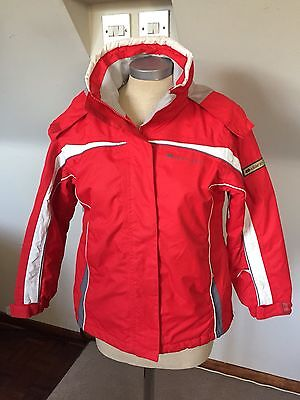 DARE 2be GIRLS SKI JACKET COAT age 9 - 10 Years EUR 140 Red Grey White