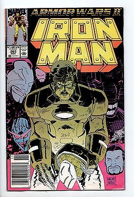 Iron Man #262 - The Enemy Within (Marvel, 1990) - FN