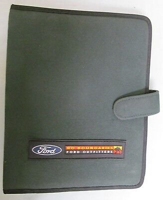 """""""Ford Outfitters"""" Press Kit"""