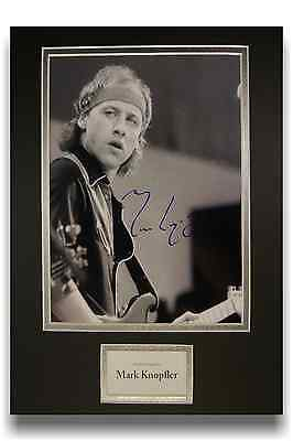 Mark Knopfler 'Dire Straits' Authentic Hand Signed Autograph 8x10 Photograph