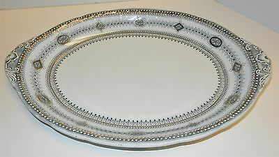 Burgess & Leigh Dalmeny Oval Serving Platter England Early 1900's Pattern
