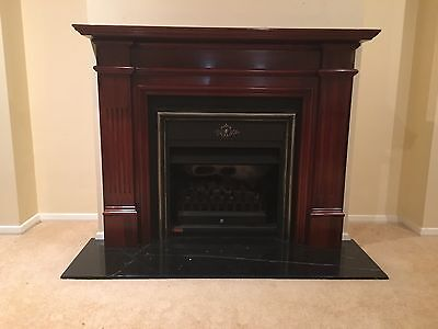 Jetmaster 700 mantle incl cast iron surround