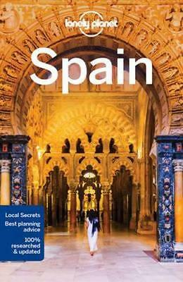 NEW Spain By Lonely Planet Travel Guide Paperback Free Shipping