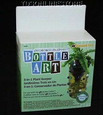 3 In 1 Planter Keeper Bottle Art Kit For Use With G2 Bottle Cutter