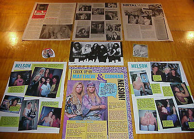 Matthew & Gunnar Nelson Band Vintage Clippings #6 #111716