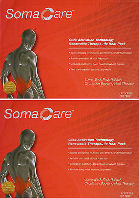 Soma Care Renewable Therapeutic Lower Back Pack! Brand New in Box!