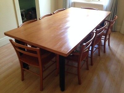 Large and solid dining table