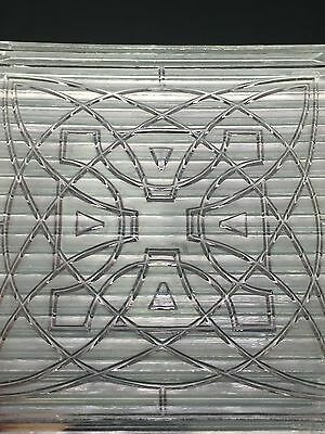647 Antique Frank Lloyd Wright Glass Prism  Luxfer Architectural Tiles