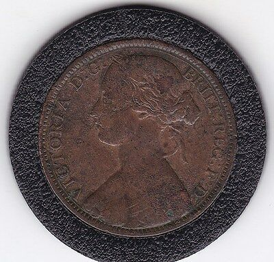 1862   Queen Victoria  Large  One  Penny (1d)  Bronze  Coin