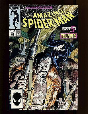 Amazing Spider-Man #294 VF Zeck McLeod Vermin Death of Kraven