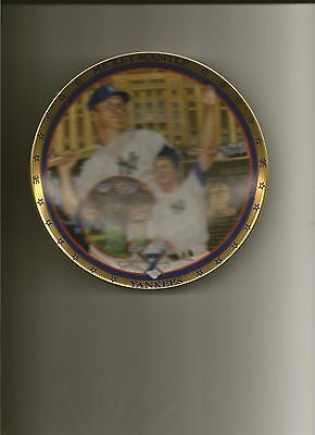 Mickey Mantle Collectors Plate