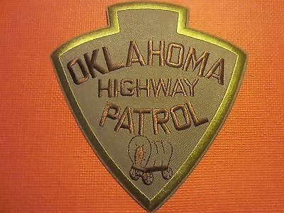 Collectible Oklahoma Highway Patrol Patch New
