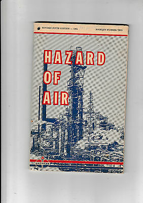 Hazard Of Air......  Published By The American Oil Company     1964