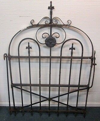 Architectural Antique Victorian Wrought Iron Garden Gate Compare My Price ! # 4