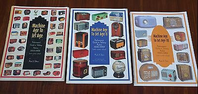 Machine Age To Jet Age Vol. 1, 2, and 3: Guide to Tabletop Radios By Mark Stein