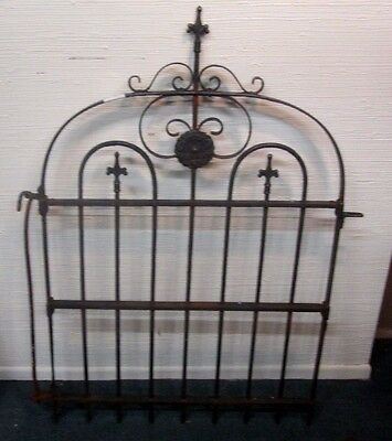 Architectural Antique Victorian Wrought Iron Garden Gate Compare My Price ! # 5