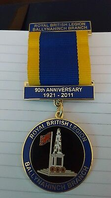 Orange order lodge RBL RARE JEWEL MEDAL