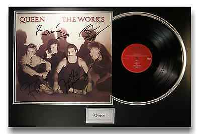 Queen - Authentic Fully Signed Autographed - The Works Album LP