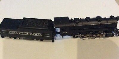 Tyco Chattanooga 638 Electric Locomotive And Tender Scale Train Model