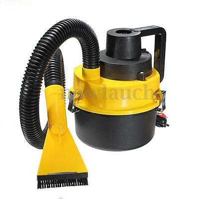 12V Wet Dry Vacuum Cleaner Inflator Portable Turbo Hand Held For Car Home Red US