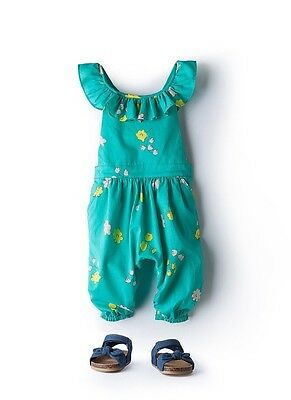NEW Country Road Baby Girls Floral Jumpsuit Size 0-3 Months