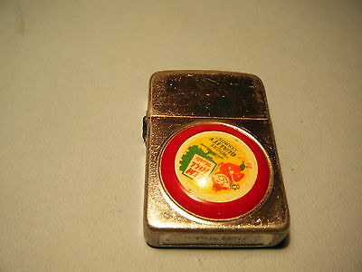 Vintage 1960's Elm Hill Meats Cigarette Lighter Made In The Usa