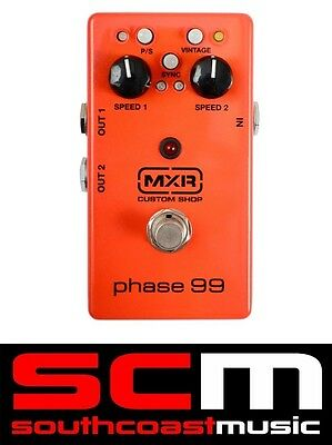Mxr Custom Shop Csp099 Phase 99 Phaser Electric Guitar Fx Effects Pedal