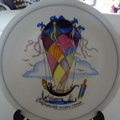 """Villeroy & Boch Famous """"Balloon Series"""" 1980's Plate - """"Venise No 4""""- Germany"""