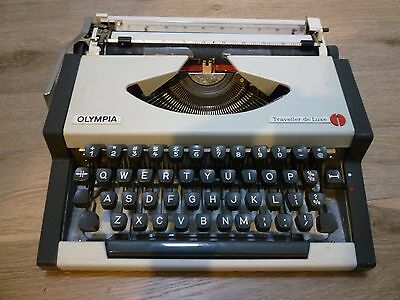 Retro Olympia Typewriter - Industrial Style
