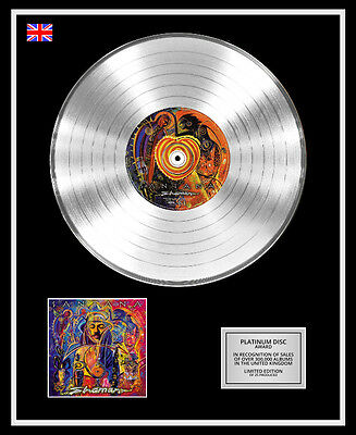SANTANA Ltd Edition CD Platinum Disc Record SHAMAN