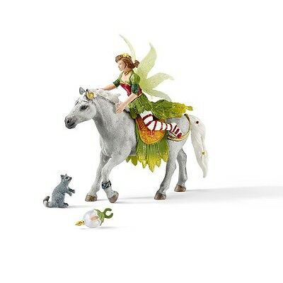 Schleich Bayala Fantasy Elf Marween in Festive Clothes, Riding Figure