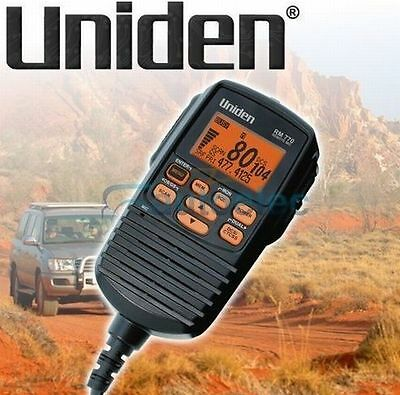 Uniden Rm100 Remote Lcd Speaker Microphone Suits Uh7740 Uh400 Uh500 Models