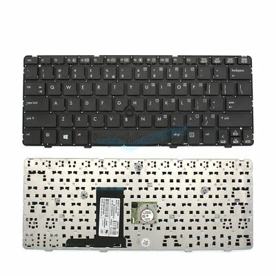 US Keyboard For HP EliteBook 2560p 2570p XB208AV Series Black Computers New!!
