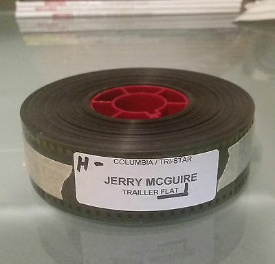 Jerry Maguire 35mm Movie Trailer Reel Tom Cruise Cuba Gooding Jr