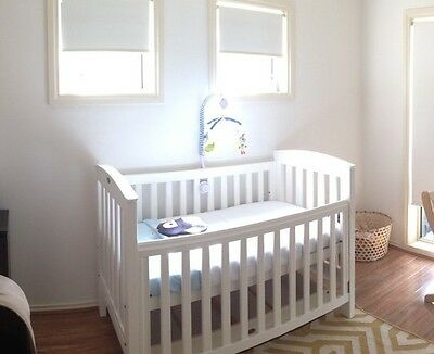 Boori Country White Cot