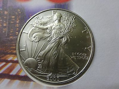 COIN COVER USA 1oz Silver Dollar 2000 Millennium Sealed In Capsule