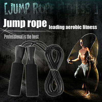 Skipping Jump Rope For Testing Aerobic Exerciseing Fitness Adjustable Bearing NS