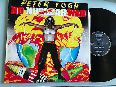 LP ITALY  Reggae  -    Peter Tosh ‎– No Nuclear War