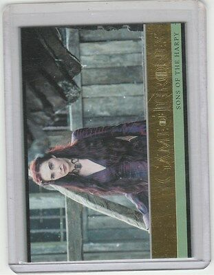 Game Of Thrones Season 5 Gold Base Card 11 Sons Of The Harpy 122/150
